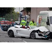 Driver Showing Off In &163100k Audi Crashed Into Ford