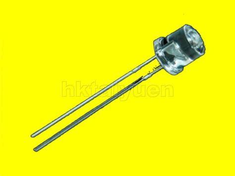 yellow led resistor 30x yellow 5mm wide angle flat top led free resistors
