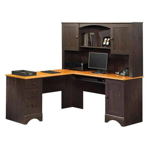 Corner Desk Hutch Sauder Corner Desk With Hutch Decor Ideasdecor Ideas