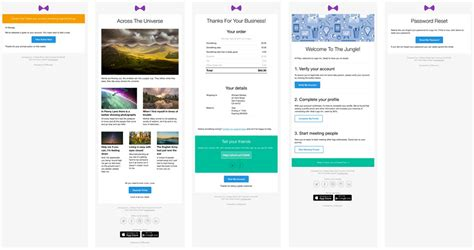 responsive html email templates for download