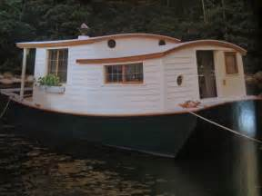 small shack plans relaxshacks com an unbelievable shantyboat houseboat in wooden boat magazine