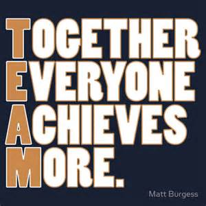 Team together everyone achieves more quot t shirts amp hoodies by matt