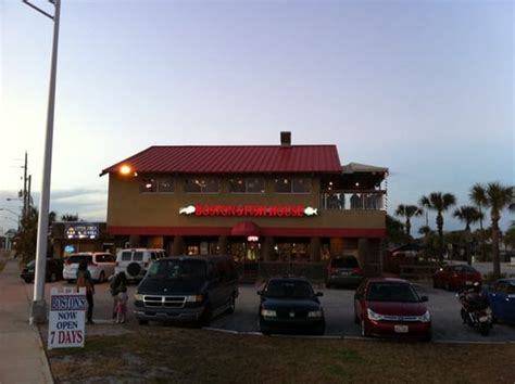 Boston Fish House by Boston S Fish House Seafood New Smyrna Fl