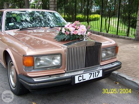 rose gold rolls royce rolls royce laosilaisi silver spur ii rose gold