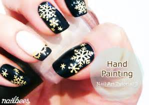 Hand painting allows you to design anything you want on your nails