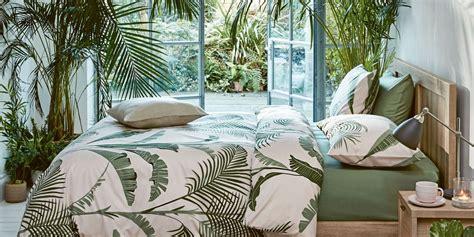 marks spencers palm print tropical bedding set