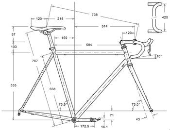 bicycle frame design dimensions bike fitting at revel outdoors professional bike fit