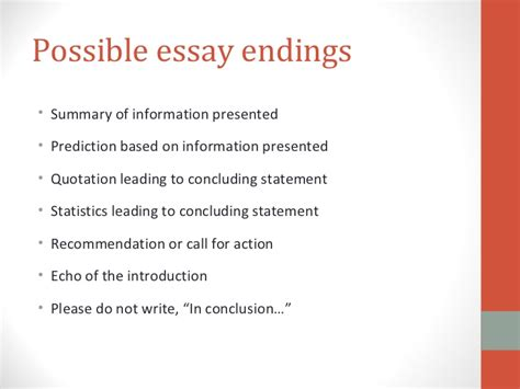 How To End A Persuasive Essay by How To Write Exposition