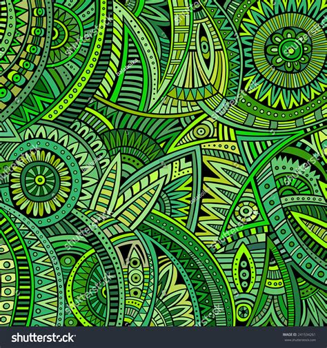 hippie tribal pattern abstract hippie tribal ethnic background pattern stock