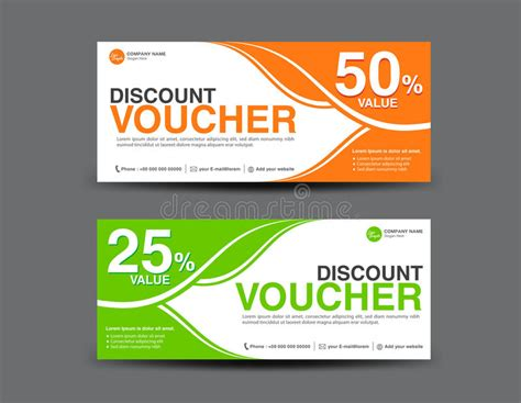 20 discount card template discount voucher template coupon design ticket card