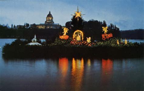 huber s peace on earth display becomes christmas island