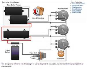 guitar and bass wiring diagrams electronic products