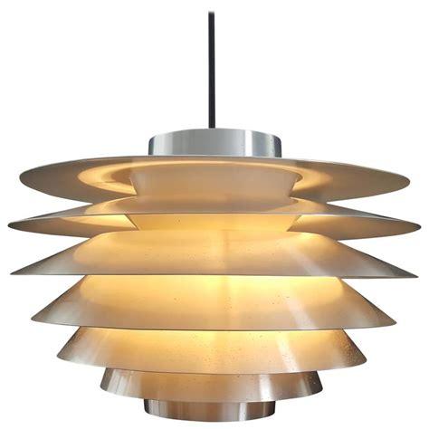 Solar Pendant Light Vintage Aluminium Svend Middelboe Verona Pendant Light By Nordisk Solar At 1stdibs