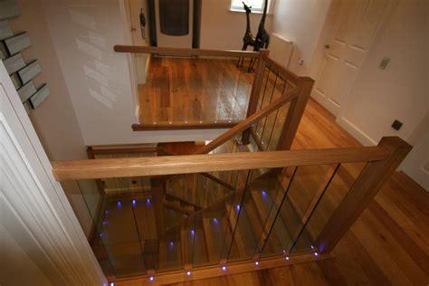 Bedroom Furniture Portland oak and glass staircase staircases glass staircases