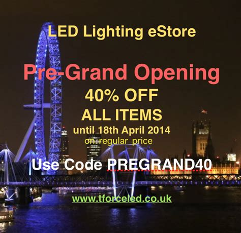 light shop discount code pre grand opening special discount code 40 on all