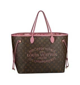 Louis vuitton summer 2013 collection neverfull bag in monogram canvas