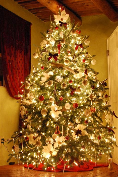 christmas tree color scheme house pinterest