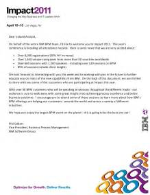 welcome letter from phil gilbert with list of bpm customer