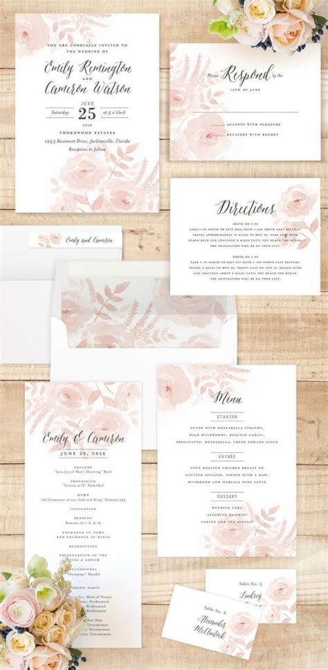 Garden Wedding Invitation Ideas Invitation Floral Garden Wedding Invitations