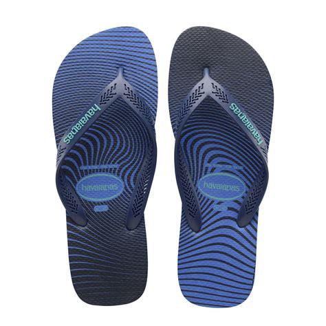 havaianas comfortable havaianas aero graphic blue star lighter sole for comfort
