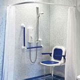 wet room curtains shepway disabled supplies mobility aids wet rooms