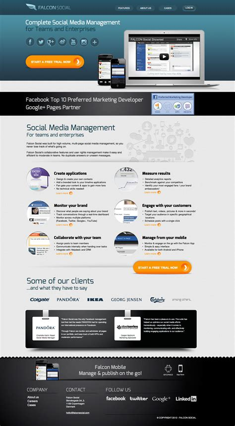 page layout design exles 36 creative landing page design exles a showcase and