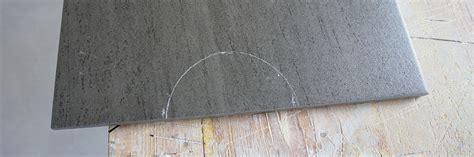 fliesen legen rundung fliesen rund schneiden der ausschnitt am fliesenrand