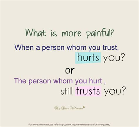 who and the who them when loving hurts and you donã t why books what is more when a person whom you trust hurts