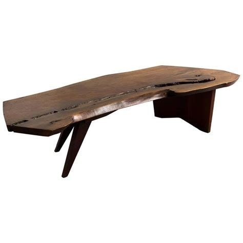 Nakashima Coffee Table George Nakashima Coffee Table 1960s At 1stdibs