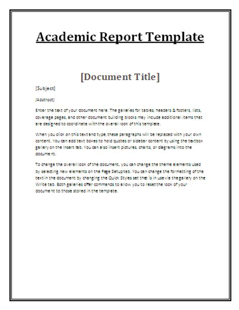 template on how to write a report academic report writing for me