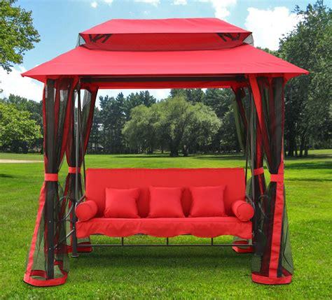 gazebo swing henryka hammock swing the home depot canada