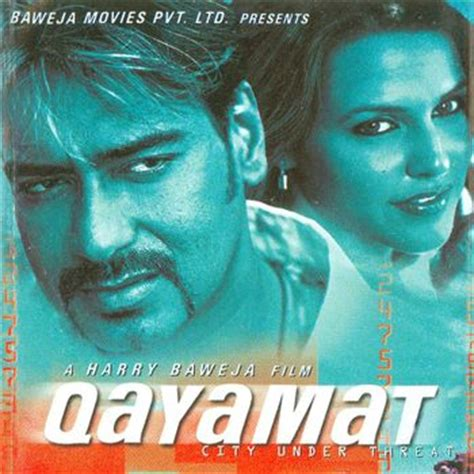 qayamat film video song download qayamat hoon main tujhe apna banana tha lyrics qayamat