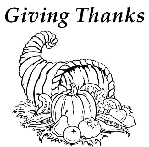 Give Thanks Coloring Pages giving thanks coloring page