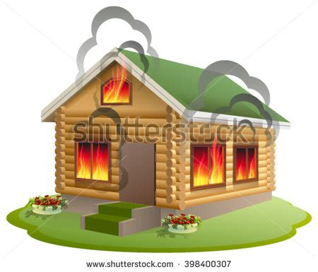 house insurance fire burning house stock images royalty free images vectors