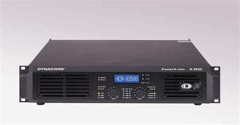 Power Lifier Dynacord dynacord power h2500 lifier concert sound