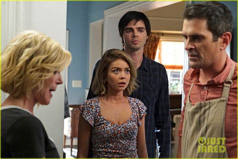 ty burrell chicken fight modern family s reid ewing admits to plastic surgery