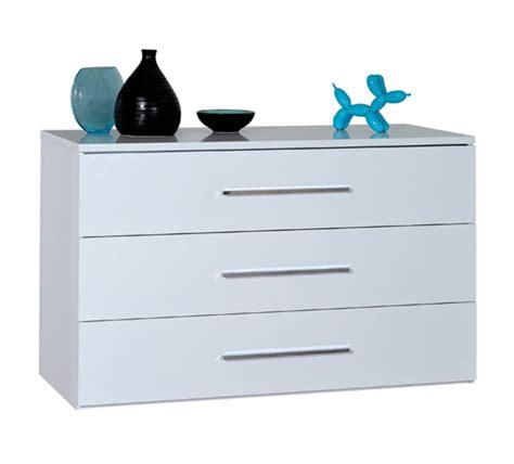 commode chambre blanche commode 3 tiroirs blanche blanc brillant