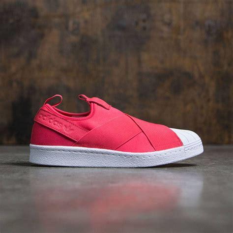 Sepatu Adidas Pink Slip On adidas superstar slip on pink pink footwear white