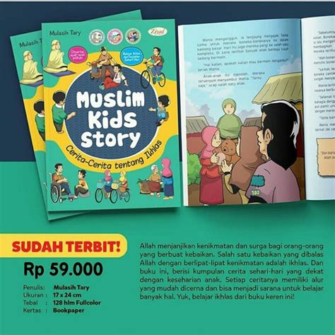 Buku Anak Muslim Islam Qids buku anak muslim story sb flash education