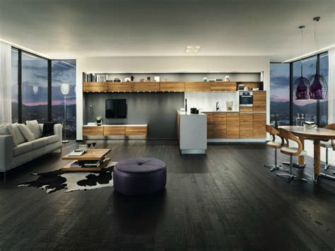 modern open plan interior designs studio apartment floor
