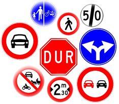 trafik tanzim isaretleri