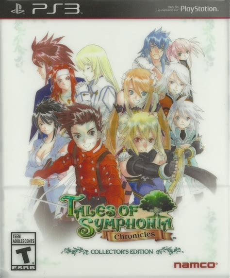 Tales Of Symphonia Chonicles Ps3 tales of symphonia chronicles collectors edition