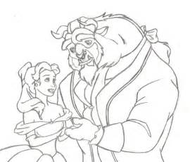 beauty and the beast sketch by nightshadow303 on deviantart