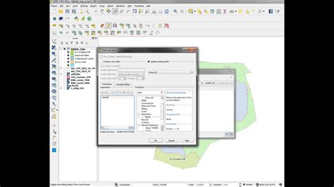 qgis software tutorial qgis tutorial calculate area