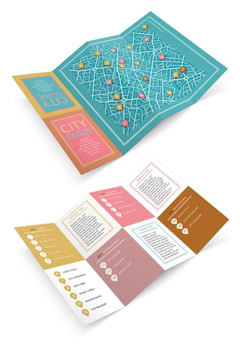 Fold Out Brochure Template by Design A Fold Out City Guide In Adobe Indesign