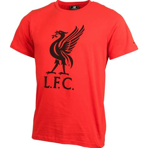 T Shirt Liverpool Big new balance liverpool logo mens soccer t shirt sportitude