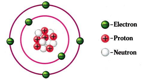Carbon Protons Neutrons And Electrons by Atoms Electron Neutron And Protons Sciencepedia