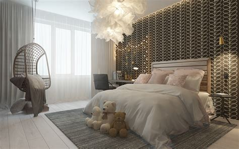 fashion bedroom decor dark themed kids rooms