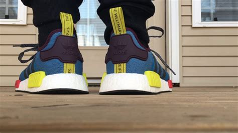 villa x adidas nmd exclusive unboxing on foot