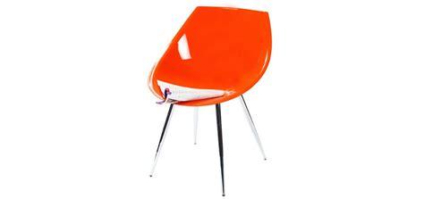 chaise ée 60 chaise orange 60 s optez pour des chaises design rdv d 233 co